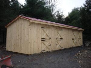 10x36 Stall Barn w Tack