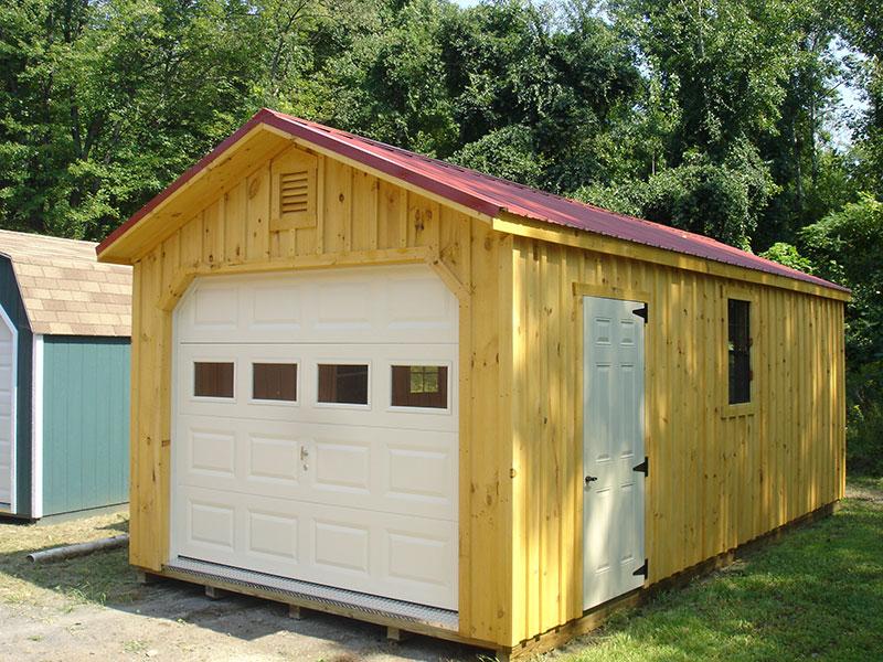 1 Car Garages The Barn Raiser