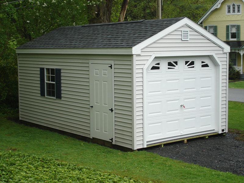 1 Car Garages – The Barn Raiser