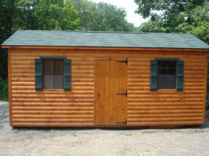 12x20 Log A Frame Shed