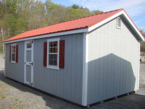 12x24 LP New England Classic w Metal Roof