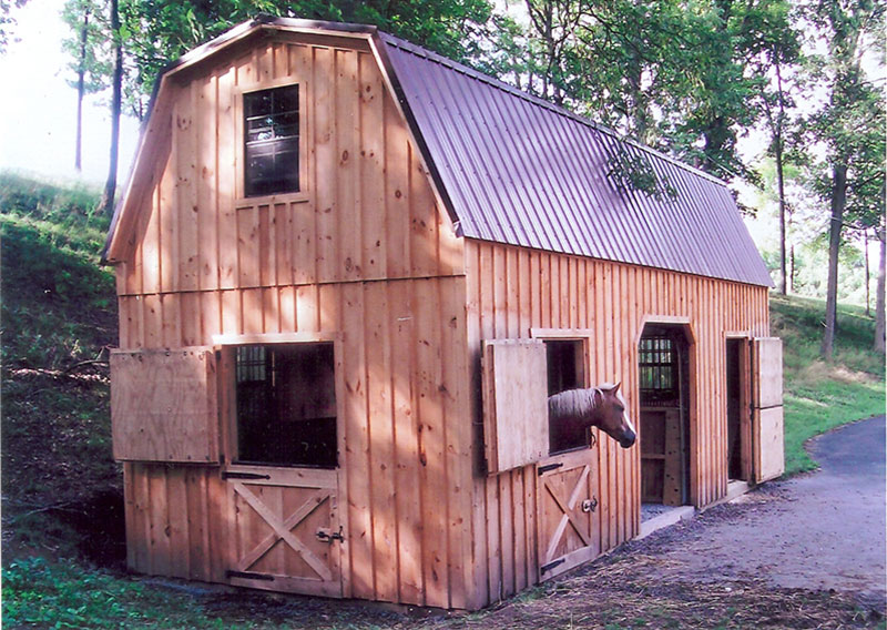 Modular horse barns the barn raiser for 2 story barns