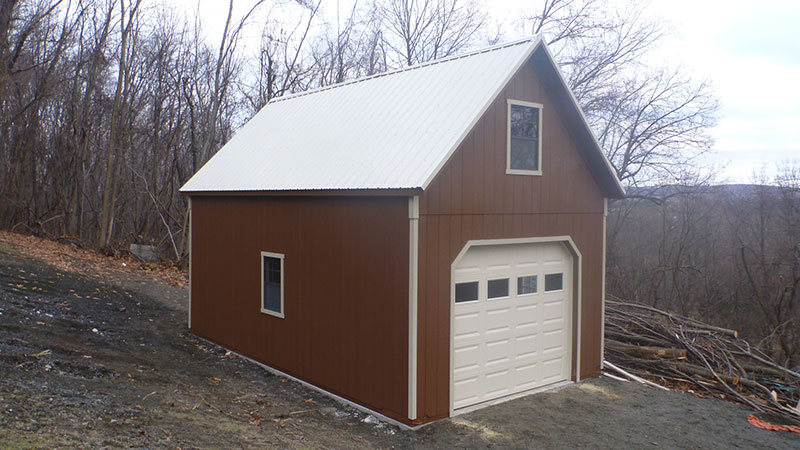 1 car garages the barn raiser for A frame garage