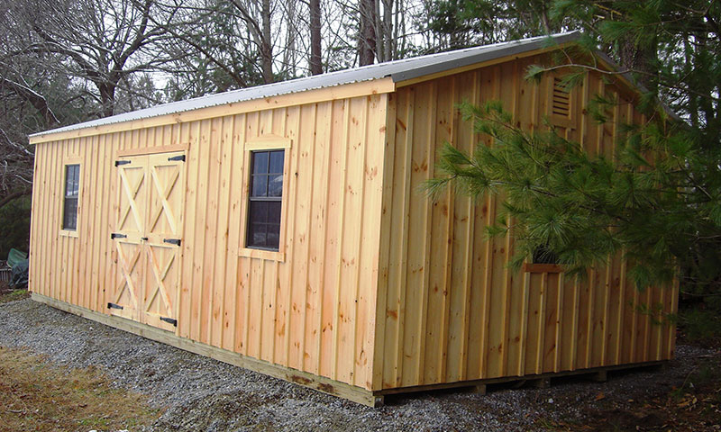 Heavy Duty Board Amp Batten Sheds The Barn Raiser