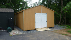 16x20 LP Double Wide Shed