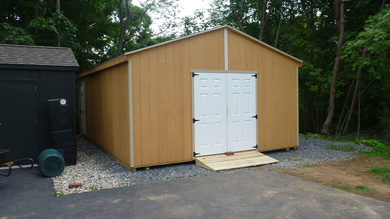 Double Wide Sheds – The Barn Raiser