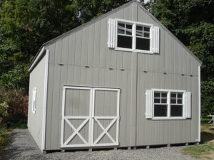 20x20 2 Story LP A Frame Shed