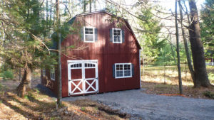 20x24 2 Story LP Gambrel Shed
