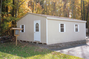 24x24 LP Double Wide Shed
