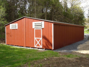 24x36 LP Double Wide Shed