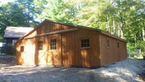 30x36 Low Profile Barn