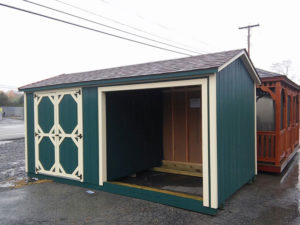 8x16 Shed Combo
