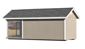 8x20 LP SmartSide Elite Kennel Back