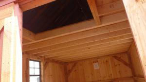 Extra Storage A Frame Interior