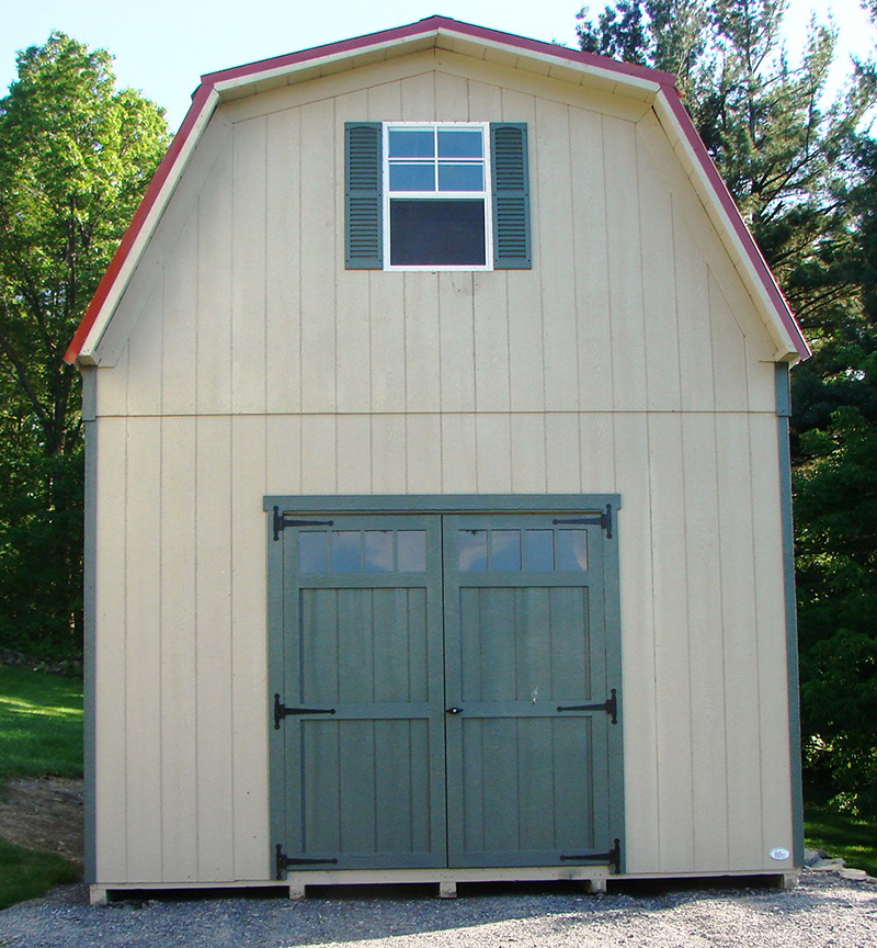 2 Story Sheds – The Barn Raiser