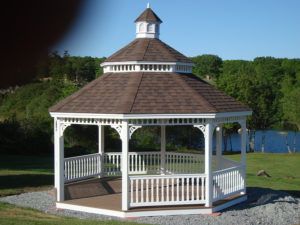 18' Victorian Octagon With Cathedral Roof