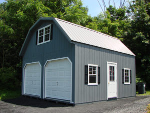 20x24 2 Story LP Gambrel Garage