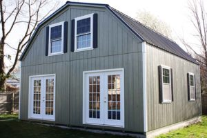 20x24 Custom 2 Story LP Gambrel