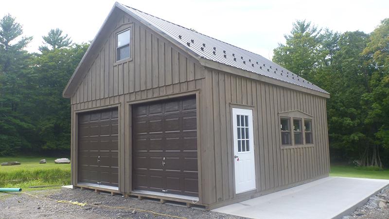 2 Story 2 Car Garages The Barn Raiser