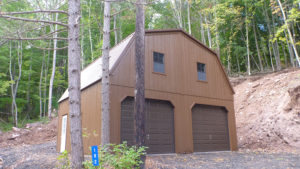 24x24 2 Story LP Gambrel Garage
