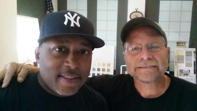 Dave with Shark Tank's Daymond John at The Barn Raiser