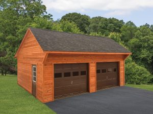 20x24 One- Story Cedar Allentown Saltbox