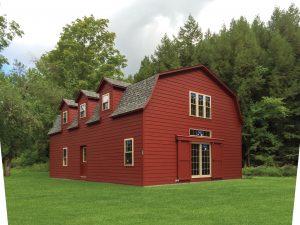 26x40 Two- Story LP Lap Dutch Barn w/ Optional Dormers