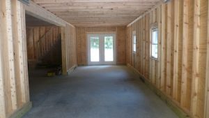 Bottom Floor Standard Two- Story Garage