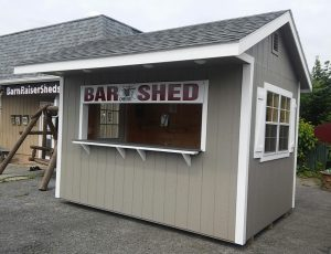 8'x12' Backyard Bar/ Entertainment Shed